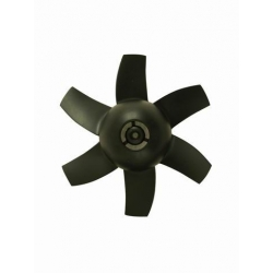 HELICE 6 PALES POUR TURBINE  30 mm