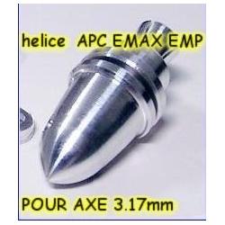 PORTE PINCE PLUS PINCE POUR AXE 3mm HELICE TYPE APC / EMP
