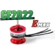 "MOTEUR BRUSHLESS ""29gr"" KV2840 EMAX CF2805 traction jusqu'a 400 gr  121W"