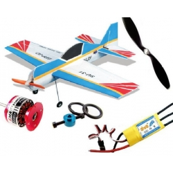 KIT AVION EPP SU31 RED EAGLE 2011  INCASSABLE COMBO 1