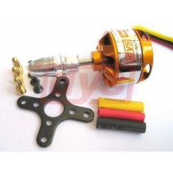 "MOTEUR BRUSHLESS ""38gr"" KV1450 DYS  REF A2822/14  traction jusqu'a  400g  100W"