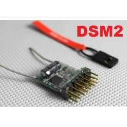 MICRO RECEPTEUR 4g MX1  2.4GHZ  6 VOIES  COMPATIBLE DSM2 SPEKTRUM