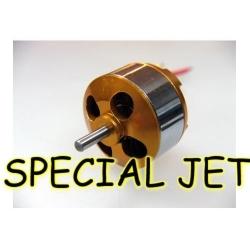 """MOTEUR BRUSHLESS """"58gr"""" KV2200 BL2212/06 REF A2826/6 DYS poussée  750gr 300W special jet depron pusher"""