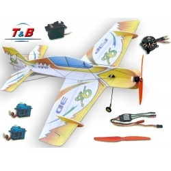KIT AVION EPP  3D  YAK 54 T&B  COMBO