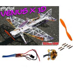 AVION VENUS X 3D PRO F3P COMPETITION TECHONE / HCF KIT + COMBO 1