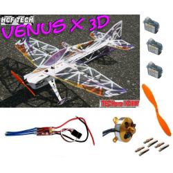 AVION VENUS X 3D PRO F3P COMPETITION TECHONE / HCF KIT + COMBO 2