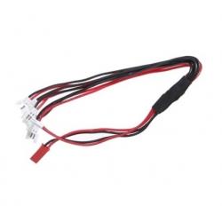 cable de charge pour lipo drone de 1 a 5 lipos en meme temps