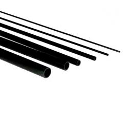 TUBE CARBONE DIAMETRE 3mm x 2mm  LONG: 1 METRE