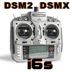 RADIO PROGRAMMABLE i6S STORMrc  6 VOIES  2.4Ghz  DSM2 DSMX MODE 2