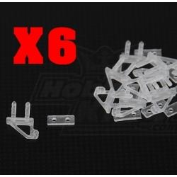 LOT  MICROS GUIGNOLS  NYLON 2 TROUS  9x10mm