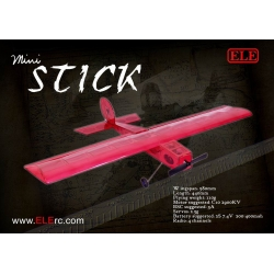 "KIT  AVION BALSA "" A MONTER ""  MINI STICK  ELErc"
