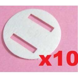 LOT 10 CHARNIERES F3P INDOOR KAVAN SUPER LIGHT D15 EPAIS 0.3