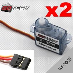 2X DYS  S0301  GOTECK GS-3005   2.5gr