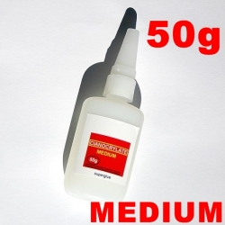 COLLE CIANOCRYLATE MEDIUM TYPE SUPER GLUE GRAND FORMAT  50g