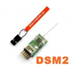 MICRO RECEPTEUR 4g MX4  2.4GHZ  4 VOIES  COMPATIBLE DSM2 SPEKTRUM / JR