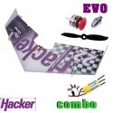 AILE DELTA EPP HACKER  SKYCARVER EVO  DECO HACKER TEAM DESIGN  COMBO 1