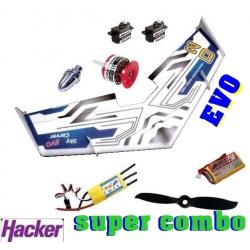 AILE DELTA EPP HACKER  SKYCARVER EVO  DECO HACKER RACE DESIGN  SUPER COMBO