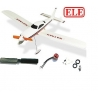 MICRO AVION CESSNA  NATAKU INDOOR OUTDOOR ARF  2 AXES MOTEUR BRUSHLESS ET HELICE  COMBO 1