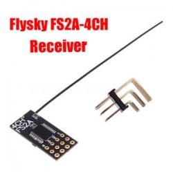 RECEPTEUR FS2A FLYSKY 2.4GHZ  4 VOIES  COMPATIBLE TGY-i6    FS-i6   TGY-i10