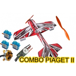 KIT AVION DEPRON PIAGET 2 COMBO