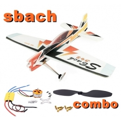 KIT AVION EPP DANCING WINGS SBACH 342 COMBO