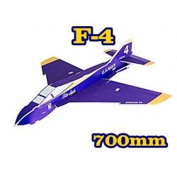 KIT JET DEPRON F-4 PUSHER PARKJET BLEU