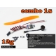 "COMBO """" 12g """"  NANO BRUSHLESS MC1106 KV3800 +  ESC 5A  TRACTION 100g"
