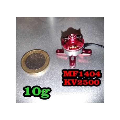 """NANO GEARBOX  BRUSHED """"1.95gr"""" AEROrc  traction jusqu'a 20gr"""