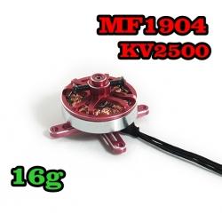 """MOTEUR  BRUSHLESS """"16gr"""" KV2500 MF1904  traction jusqu'a 320gr"""