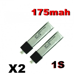 BATTERIE LIPO LIGHTMAX ZIPPY 1S 3.7V  138mah 10C IDEAL MINIUM