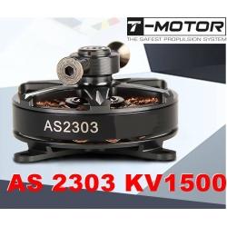 MOTEUR 17g AS 2303 KV1500 T-MOTOR HAUT DE GAMME 108W  TRACTION JUSQU'A 485g