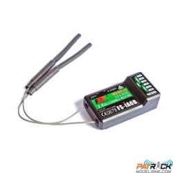 FlySky FS-iA6B 2.4G 6CH Récepteur AFHDS pour émetteur FS-i10 FS-i6