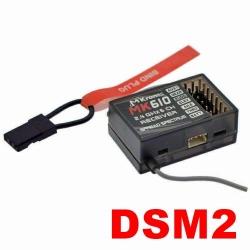 MICRO RECEPTEUR 4.4g MX3  2.4GHZ  6 VOIES  COMPATIBLE DSM2 SPEKTRUM