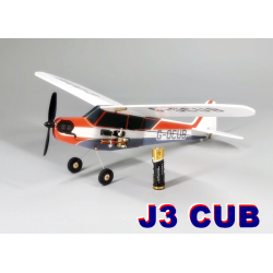 COMBO MICRO AVION J3 CUB  2 AXES SHORT KIT DEPRON