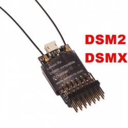 RECEPTEUR LEMON RX 2.4GHZ  6 VOIES  COMPATIBLE  DSMX / DSM2 SPEKTRUM