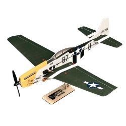 COMBO MICRO AVION P-51 MUSTANG  2 AXES SHORT KIT DEPRON