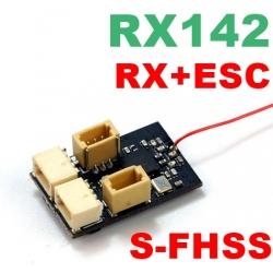 NANO RECEPTEUR  / ESC  RX14X RX142 S-FHSS 0.9g  2.4GHZ  4 VOIES