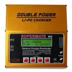 CHARGEUR EQUILIBREUR LIPO DOUBLE POWER 12V/220V DYNAM MULTIFONCTION LIPO 1S a 6S