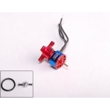 """MICRO MOTEUR T1400 KV4500 """"7g"""" BRUSHLESS TURNIGY  traction jusqu'a 100gr  23W"""