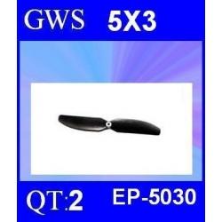 HELICES  GWS EP-5030  5X3 PAR 2 PIECES