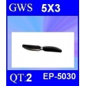 HELICES  GWS EP-5030  5X3 PAR 2 PIECES
