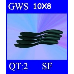 HELICES TYPE GWS 10X8 SLOW FLYER PAR DEUX PIECES