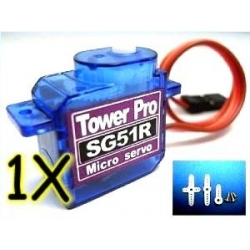 1 X  TOWER PRO SG51R