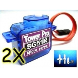 2 X  TOWER PRO SG51R