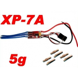 ESC CONTROLEUR BRUSHLESS XP-7A  + BEC 1A
