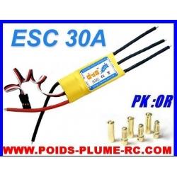 ESC CONTROLEUR BRUSHLESS 30/40A DYS
